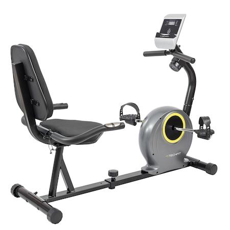 Bicicleta fitness cu spatar-orizontala de recuperare TECHFIT R300