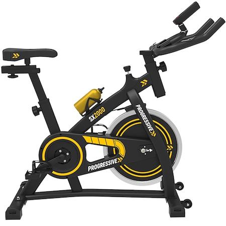 Bicicleta fitness pentru spinning, PROGRESSIVE SX2000 : Review si Pareri pertinente