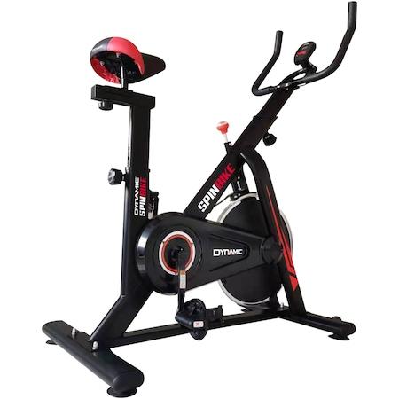 Bicicleta spinning Dynamic, volanta 6 kg, culoare negru-rosu : Review si Pareri utile